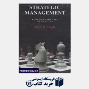 کتاب آفست مدیریت استراتژیک STRATEGIC MANAGMENT ویرایش13