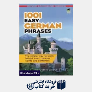 کتاب 1001 Easy German Phrases