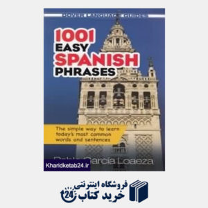 کتاب 1001 Easy Spanish Phrases