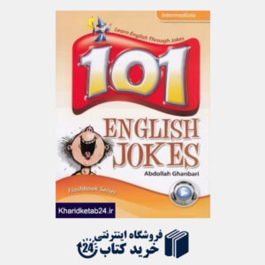 کتاب 101 English Jokes Intermediate CD