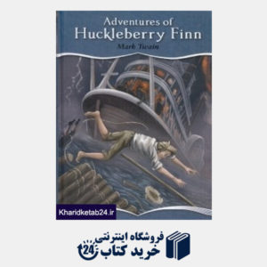 کتاب 1828 Adventures of Huckleberry Finn