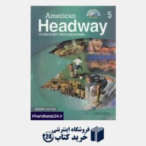 کتاب American Headway 5 SB WB CD