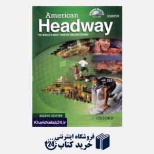 کتاب American Headway Starter SB WB CD