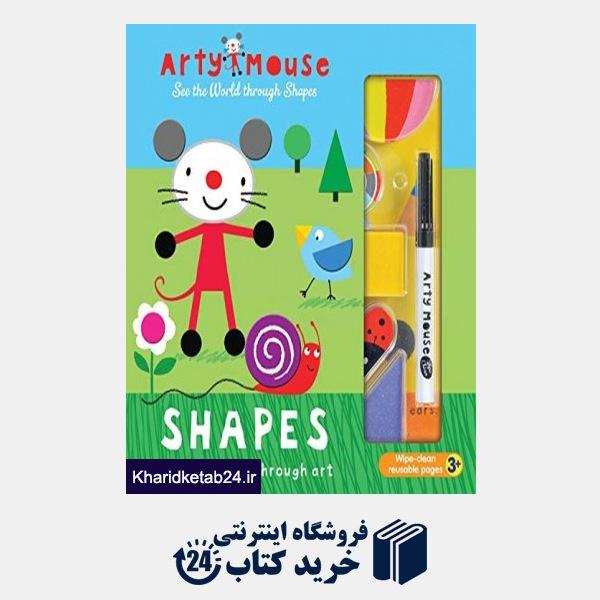 کتاب Arty Mouse Shapes