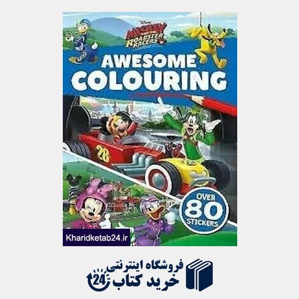 کتاب (Awesome Colouring (Mickey And The Roadster Racers