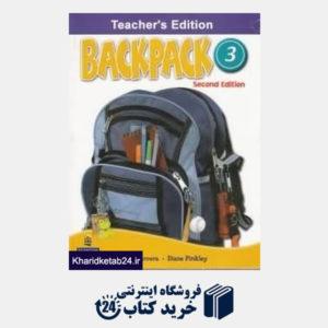 کتاب Backpack 3 Teachers