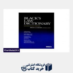 کتاب Blacks Law Dictionary 4th Edition