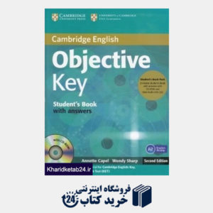 کتاب Cambridge English Objective Key SB WB for Schools CD