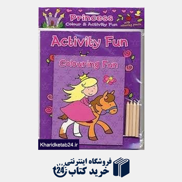 کتاب Colouring and Activity Fun 3589