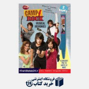 کتاب Disney Channel's Camp Rock: The Musical Memories (Disney Camp Rock)