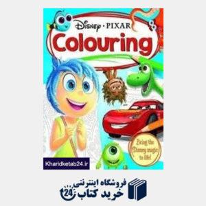 کتاب Disney Pixar Colouring Book