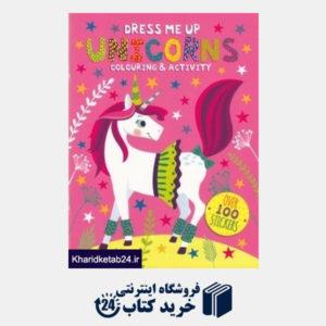 کتاب Dress Me Up Unicorns 6069