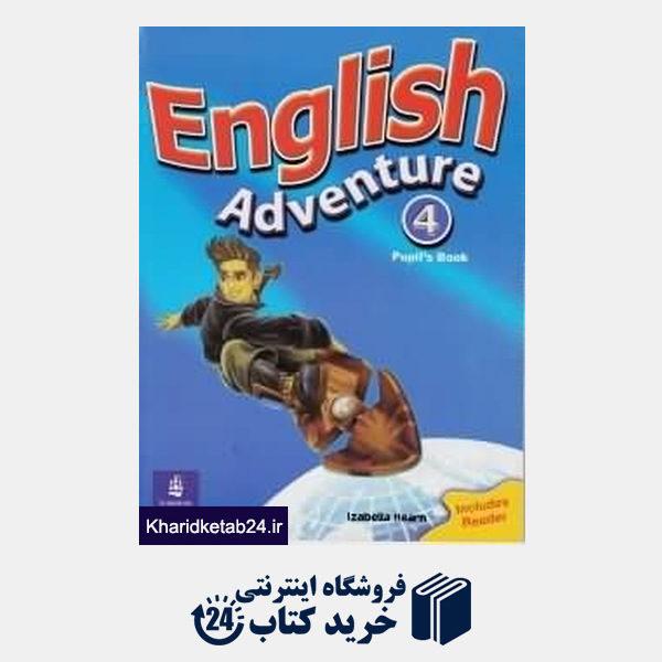 کتاب English Adventure 4 SB WB CD