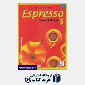 کتاب Espresso 3 Corso di Italiano SB WB CD