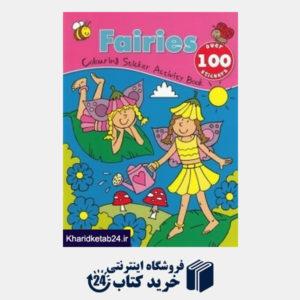 کتاب Fairies Colouring Sticker Activity Book