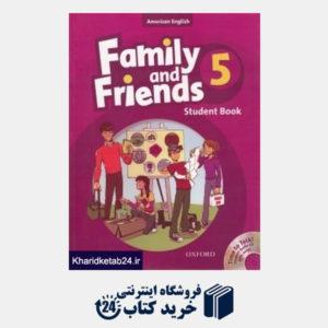 کتاب Family and Friends 5 SB WB CD