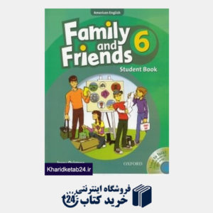 کتاب Family and Friends 6 SB WB CD