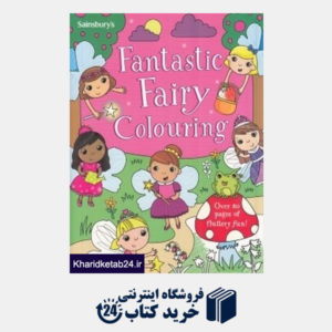کتاب Fantastic Fairy Colouring 2813
