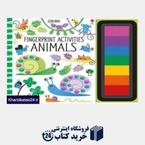 کتاب Fingerprint Activities ANIMALS