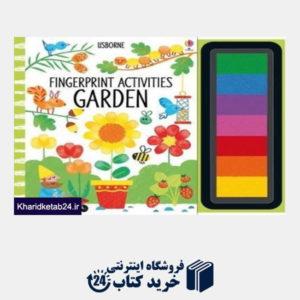 کتاب Fingerprint Activities GARDEN