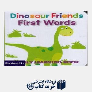 کتاب (First Words (Dinosaur Friends