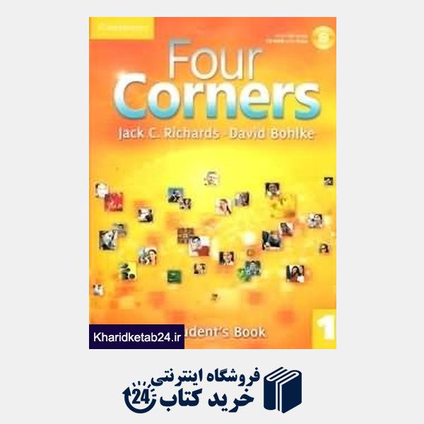 کتاب (Four Corners 1 (SB+WB+CD