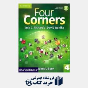 کتاب (Four Corners 4 (SB+WB+CD