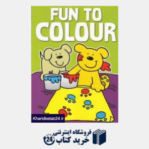 کتاب (Fun to Colour (Green