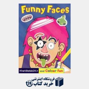 کتاب Funny Faces Sticker and Colour Fun 4490