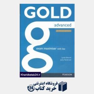 کتاب Gold Advance Exam Maximiser With Key CD