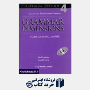 کتاب Grammar Dimension 4 SB WB