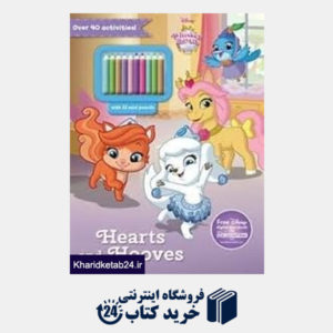 کتاب Hearts And Hooves