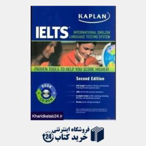 کتاب IELTS Kaplan CD