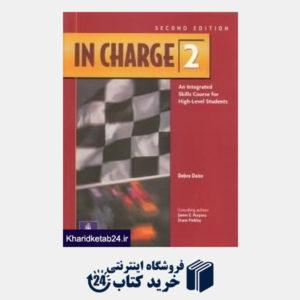 کتاب In charge 2 sb wb cd