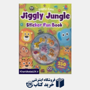 کتاب (Jiggly Jungle Sticker Fun Book (Wobbly Eyes