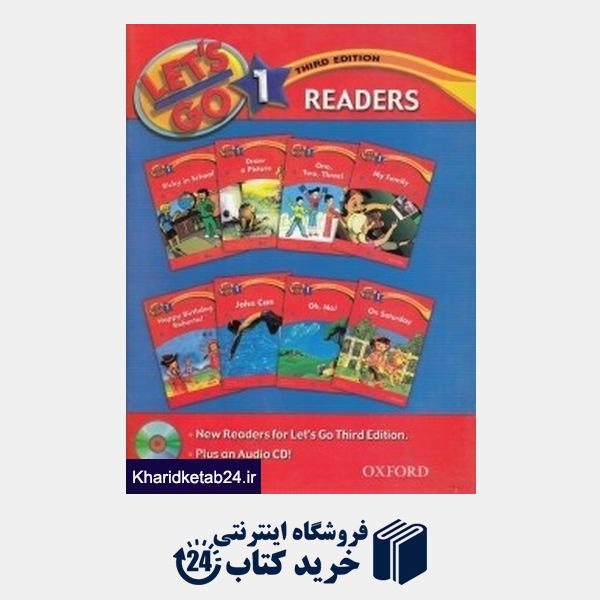 کتاب Lets Go Readers 1 CD