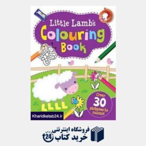 کتاب Little Lambs Colouring Book