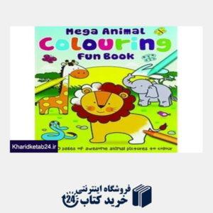 کتاب Mega Animal Colouring Fun Book
