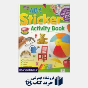 کتاب (My A B C (Sticker Activity Book