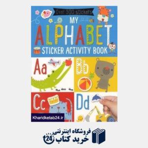 کتاب My Alphabet Sticker Activity Book