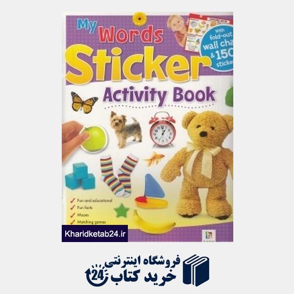 کتاب (My Words (Sticker Activity Book