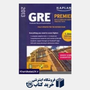 کتاب (New GRE Premier CD (2013
