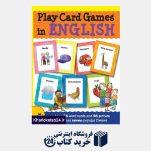 کتاب Play Card Games in English