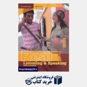 کتاب Real Listening Speaking 1 CD