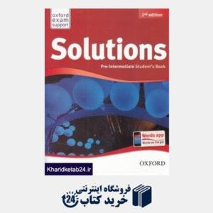 کتاب Solution Pre Intermediate SB WB CD