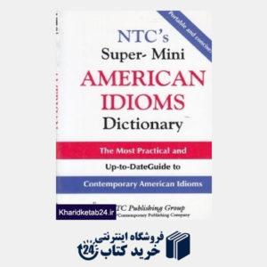 کتاب Super Mini American Idioms Dictionary