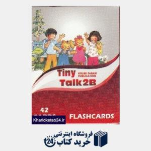 کتاب Tiny Talk 2B Flashcards 42 CARDS