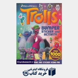 کتاب (Trolls (BUMPER STICKER and ACTIVITY