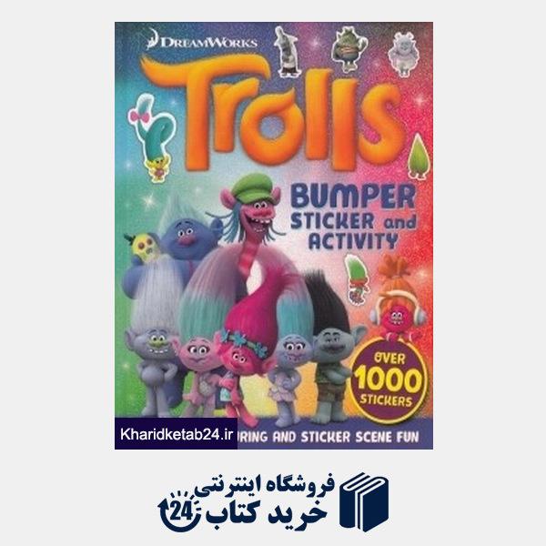 کتاب (Trolls (BUMPER STICKER and ACTIVITY