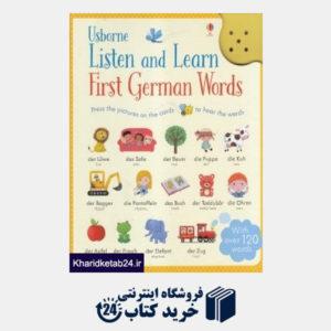 کتاب Usborne Listen and Learn First German Words
